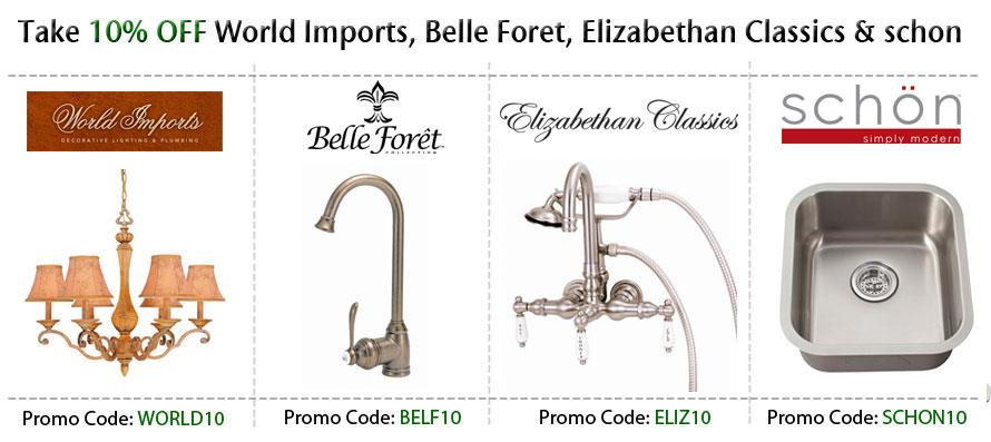 World Imports Belle Foret Elizabethan Classics Schon